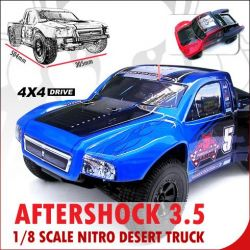 Redcat Racing Aftershock 3.0,3.5 Parts