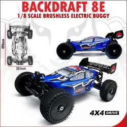Redcat Racing BackDraft 8E Parts