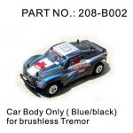 Tremor 18E Blue and Black Body