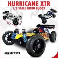Redcat Racing Hurricane XTR 1/8 Scale Nitro Buggy
