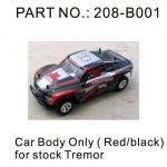 Tremor 18E Red and Black Body