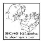 Diff. Gearbox Bulkhead-Upper/Lower