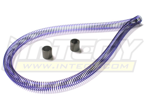 Purple Coiled Metal Nitro Fuel Line Protector 12""