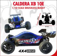 Caldera XB 10E 1/10 Scale Brushless Buggy