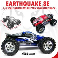 Blue Earthquake 8E 1/8 Scale Brushless Electric Monster Truck