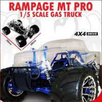 Redcat Rampage MT PRO (Version 3) 1/5 Scale Gas Truck