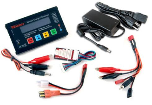 Tenergy LIPO Battery charger & Adapter