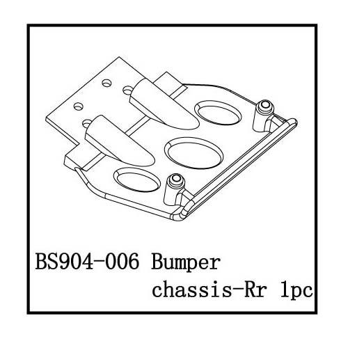 Bumper chassis-Rr
