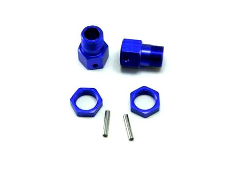 50025 23mm Wheel Mount+Nut+Shaft