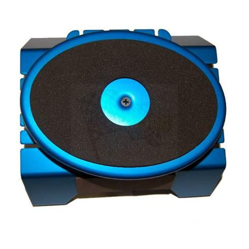70116b Blue Aluminum workstand turntable