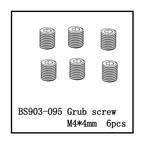 BS903-095 Set Screw(M4*4) 6 PCS